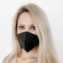 kolmekihilisest linasest riidest mask